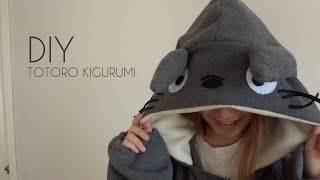 DIY: Totoro Kigurumi/Onesie with Gio