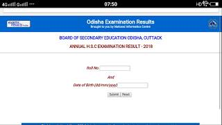 Check odisha 10th result, tpy roll number and download your mark sheet details