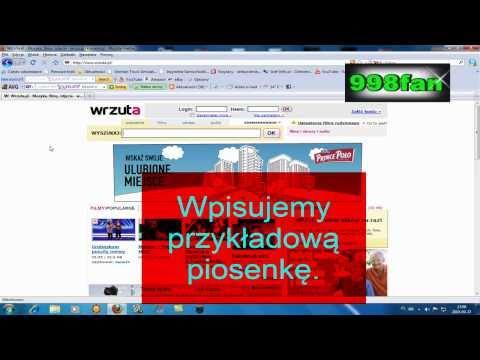 Jak pobierać muzyke z wrzuta.pl (bez żadnych błędów i programów!) [HD]
