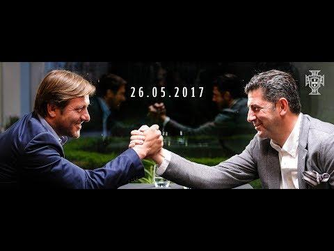 Taça de Portugal: conversa entre Pedro Martins e Rui Vitória