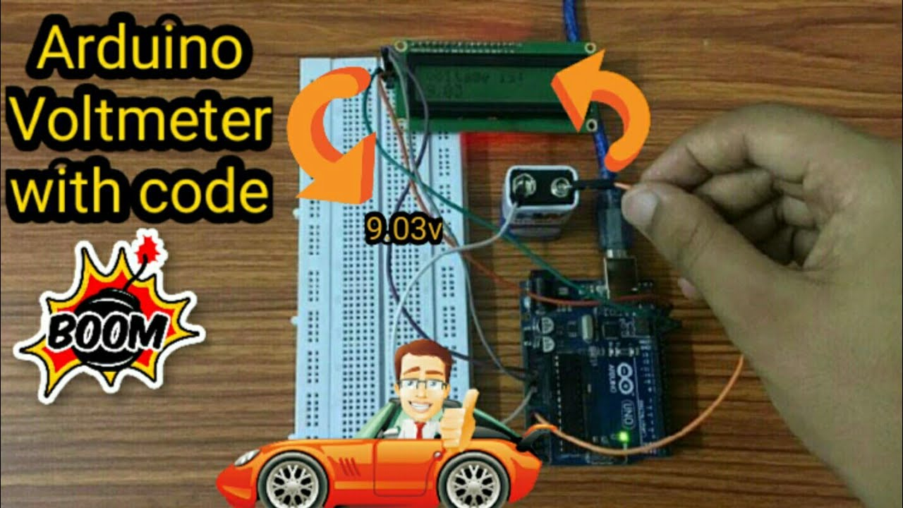 Download Arduino Voltmeter |DIY Voltmeter with Arduino| Arduino Voltmeter with Code| #arduino #arduinoproject