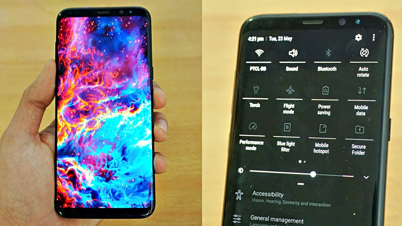 What S On My Samsung Galaxy S8 Plus 4k Youtube
