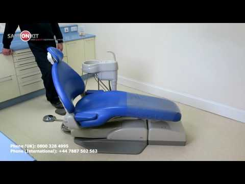 A-dec Cascade 1040 Dental Examination Chair 542 Side Delivery Unit Lamp Dentist