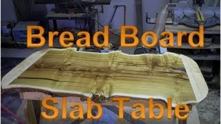 Mulberry Wood Slab Natural Edge Table