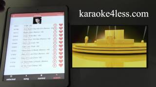 how to using the iphone Ipad to control the ktv-8868e karaoke player