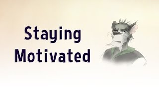 Artist Blog - Staying Motivated as an Artist