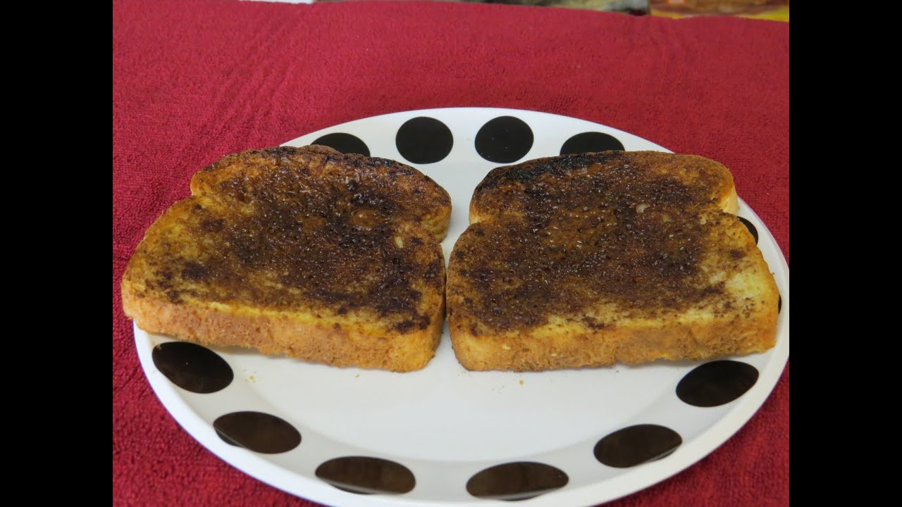 How to Make Cinnamon Toast in the Toaster Oven Easy Recipe