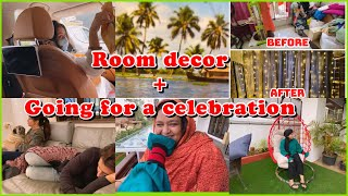 Room decor | going for a celebration | ibrahim family