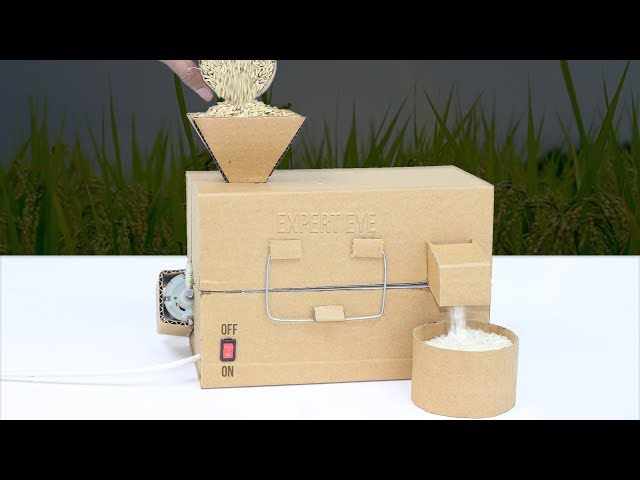 How To Make Mini Rice Mill From Cardboard At Home Diy Rice - roblox studio dersleri ders 1 mesh yapma blender muammerveysel