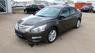 2014 Nissan Teana. Start Up, Engine, and In Depth Tour.