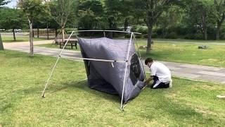 로고스 감성 텐트! 간편한 설치법의 나바호 A형 텐트 …