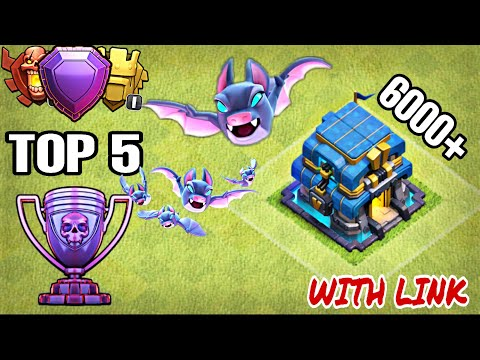 TOP 5 TOWN HALL 12 (TH12) BASE 2019 WITH BASE LINK   TH12 BEST BASE - Clash With Kvn