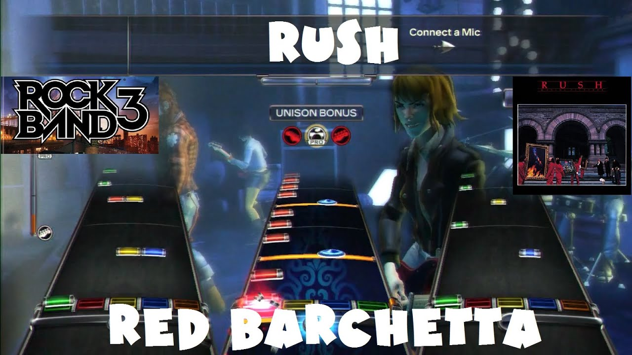 Rush Red Barchetta Rock Band Dlc Expert Full Band September