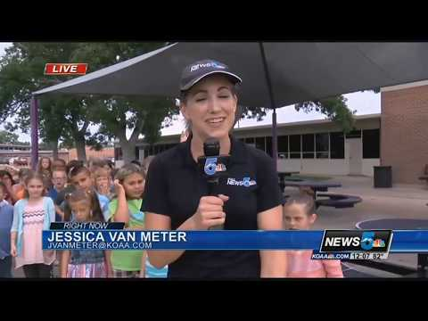 Widefield Elementary storm safe visit