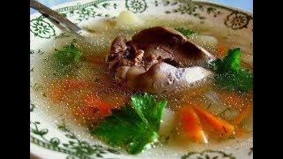 Простой суп фото рецепт с картошкой и куриная печень.
