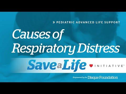 6b. Causes of Respiratory Distress, Pediatric Advanced Life Support (PALS)