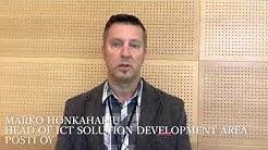 Mitä mahdollisuuksia EGN verkosto tarjoaa – Marko Honkaharju, Posti Oy