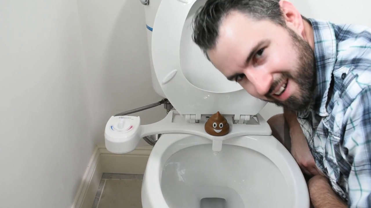 Turn your ordinary toilet into a bidet with BioBidet!   YouTube