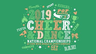 Pop Warner Cheerleading Championships (12/9/2019) - Evening Session thumbnail