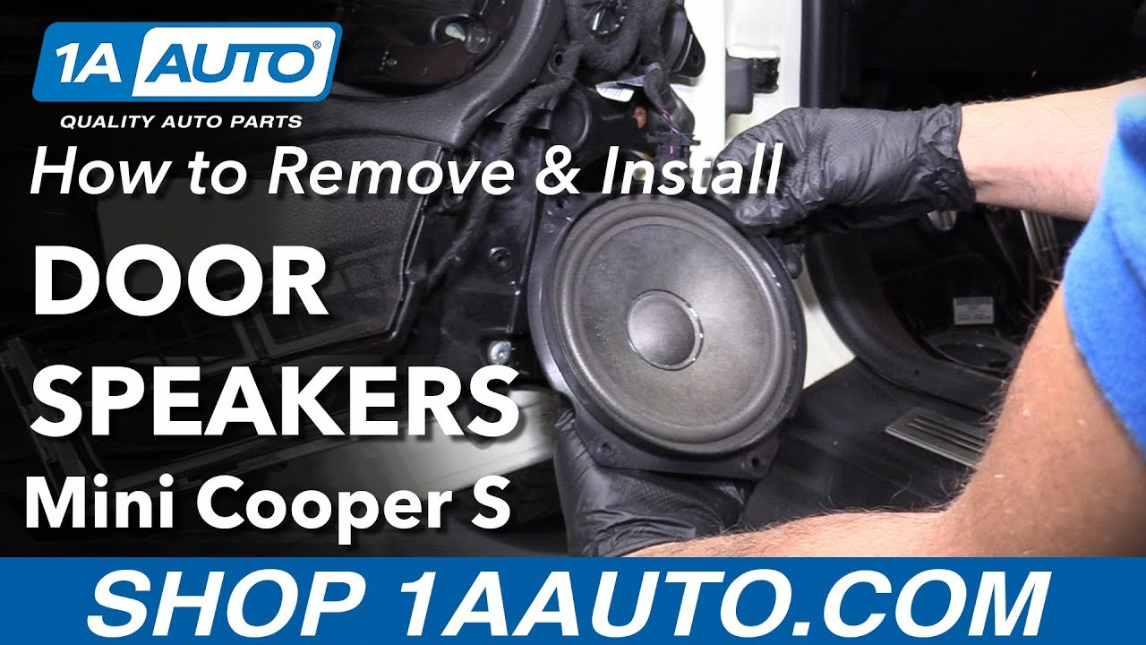 How to Remove Door Speaker 07-13 Mini Cooper S