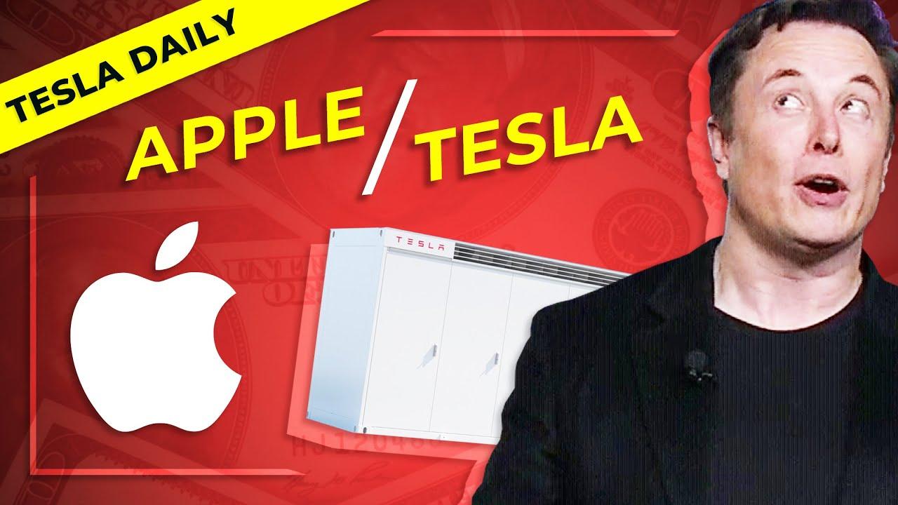 Apple Buying Tesla Megapacks + Leaked Email on Deliveries, Regulatory Credit $ From VW