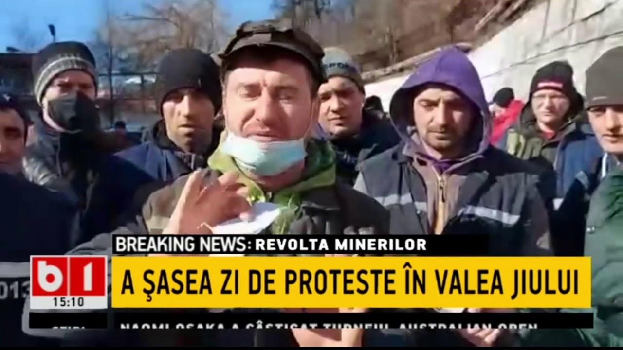 A SASEA ZI DE PROTESTE IN VALEA JIULUI_Stiri b1_21 februarie 2021
