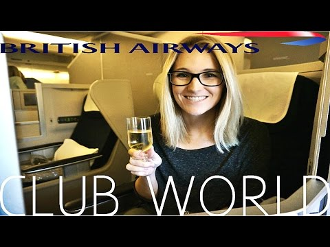 British Airways BUSINESS CLASS London to Los Angeles|A380