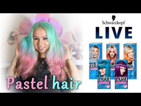 modrá barva na vlasy dm
