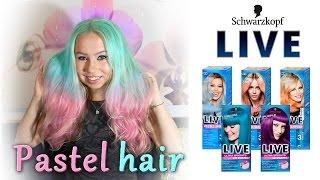 VŠE O TÓNOVÁNÍ VLASŮ│PASTEL HAIR│Kate Wednesday