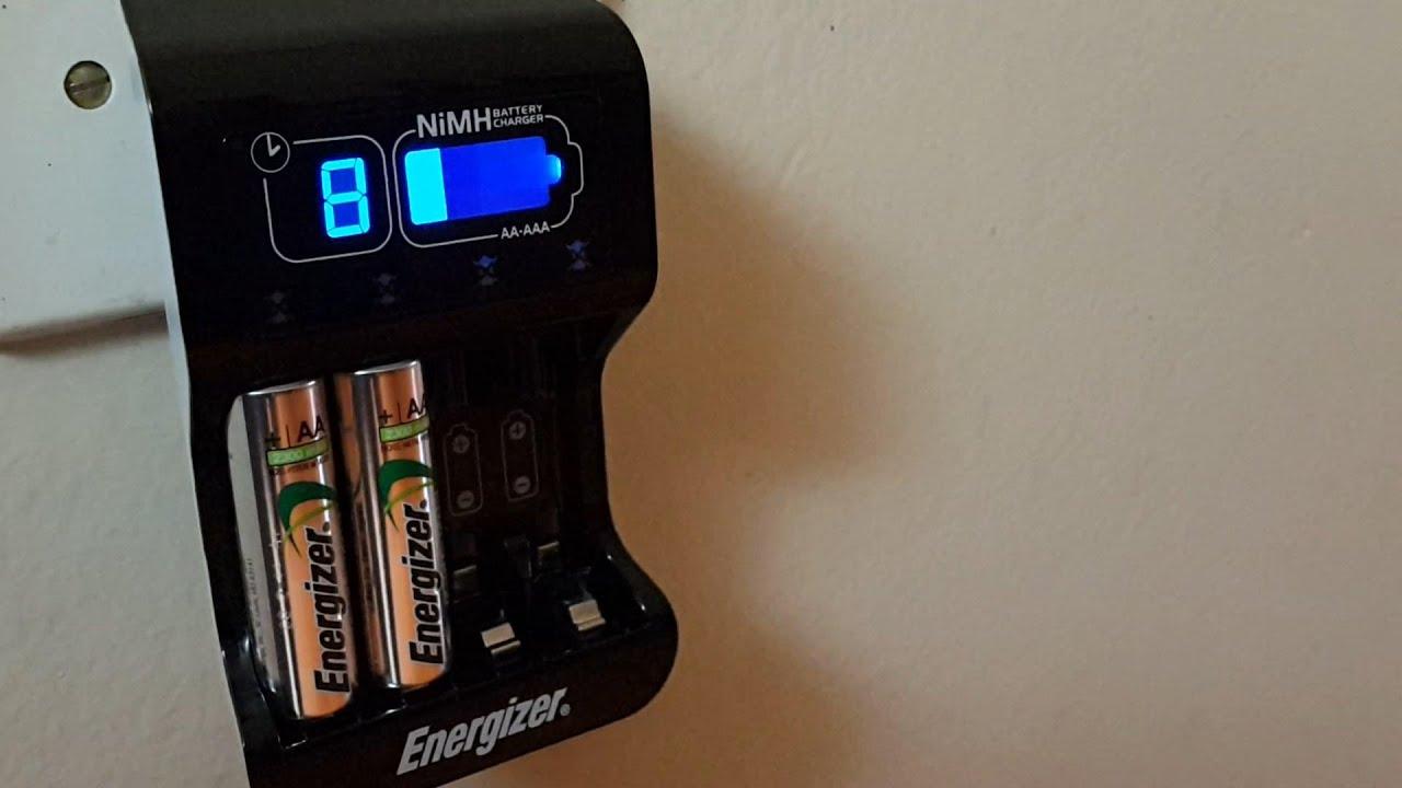 Pilas energizer aa recargables 2300 mah cargador digital - Cargador pilas recargables ...