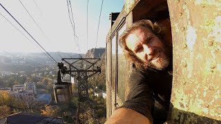 Riding in Rusty Old Soviet Era Cable Cars thumbnail