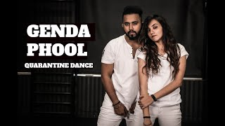 Download lagu GENDA PHOOL | Tejas Dhoke & Ishpreet Dang | Dancing At Home | Team Dancefit