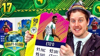 THE LUCKIEST DRAFT?! AFRICA ONLY FUT DRAFT! DRAFT TO GLORY #17 FIFA 18 ULTIMATE TEAM