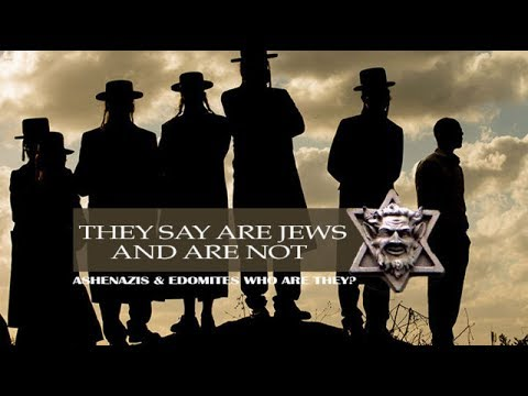 They Say They Are Jews And Are Not