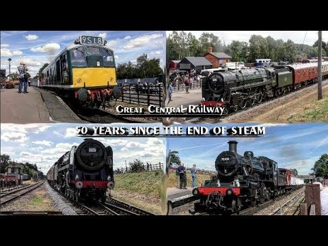 Great Central Railway - End Of BR Steam 50 Gala - 11/08/2018