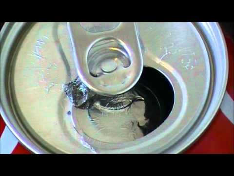 Gallium Ruins Coke Can