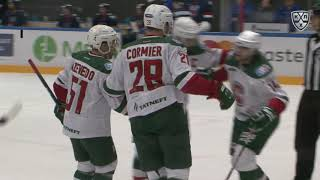 Cormier late PP goal gives Ak Bars W