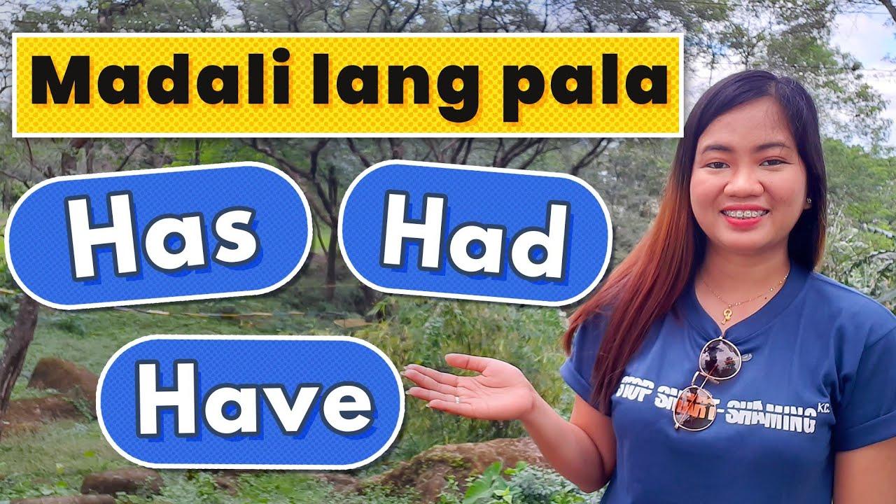 Download Linawin natin ang tamang pag gamit ng HAS HAVE HAD    Charlene's TV 