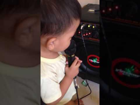 My nephew NOB singing karaoke