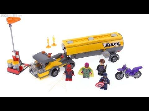lego doc ock truck heist instructions