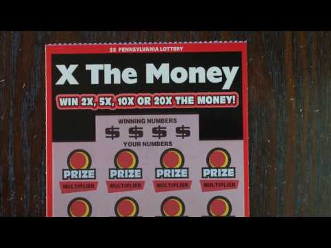 Pt 2 The Lotto King - $5 X The Money Pennsylvania Lottery Scratch Off Ticket