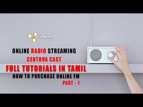How To Create 24/7 Online Radio In Tamil  Part - 1 (How To Purchase Centova Cast Radio Streaming)