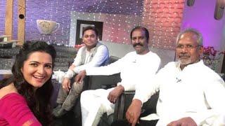 A.R.Rahman/Dulquer Salmaan/ Mani Ratnam With DD