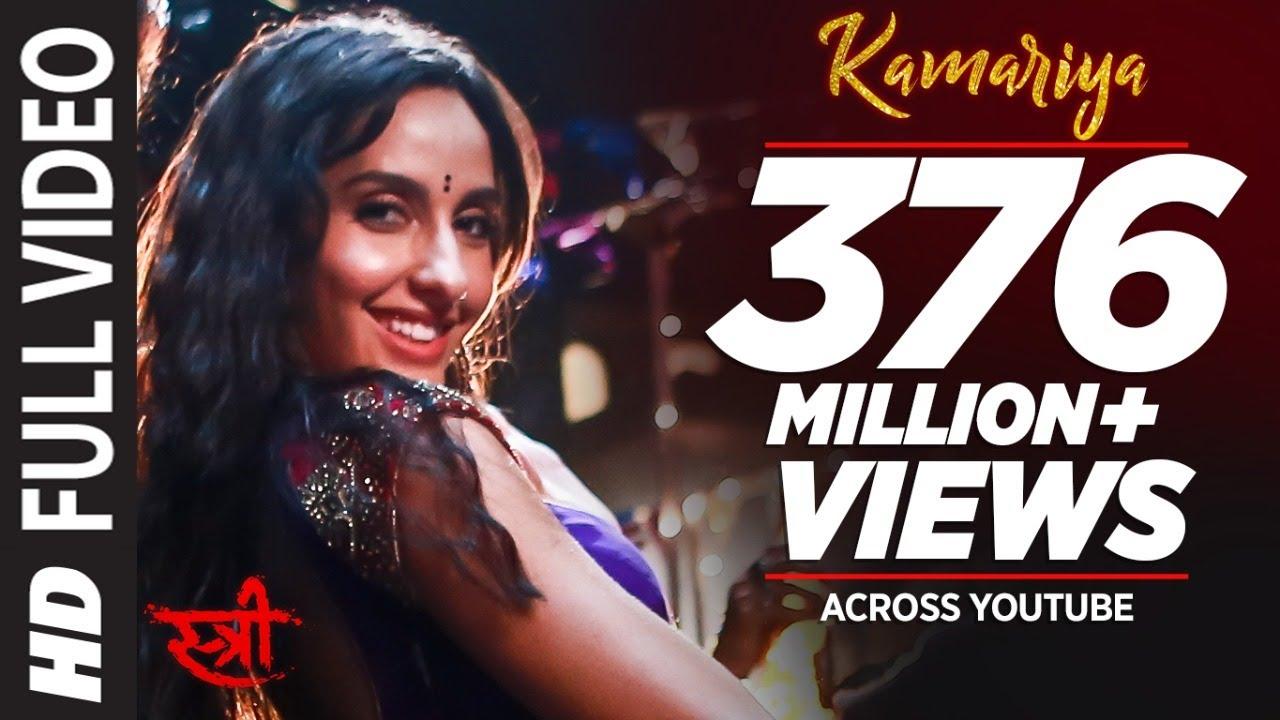Full Video: Kamariya | STREE | Nora Fatehi | Rajkummar Rao | Aastha Gill, Divya Kumar |Sachin- Jigar