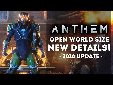 ANTHEM GAME - New Open World Details! Pacific Rim 2 Influences! New Gameplay Info!