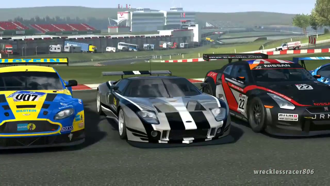 Real Racing 3 Ford Gt Fia Gt1 Brands Hatch Youtube