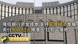 《经济信息联播》 20190906| CCTV财经