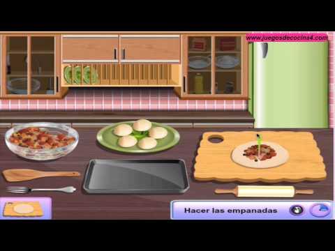 Juegos de cocina con sara empanadas sara youtube - Juegos de cocina con sara paella ...