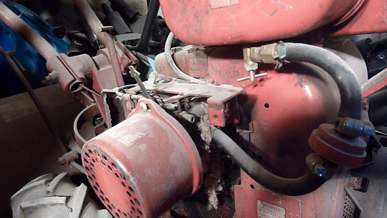 Troy Bilt Horse Rototiller Carburetor Linkage Quick Overview Youtube Tiller Engine Diagram