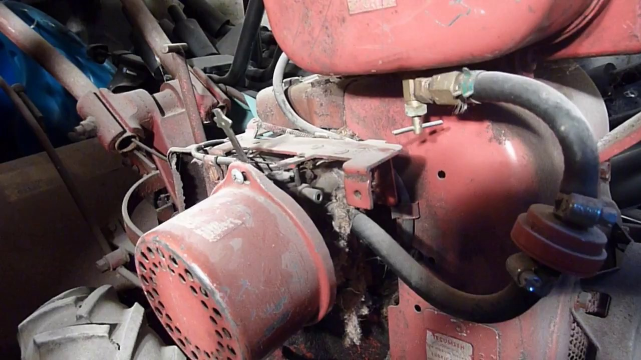 Troy bilt horse rototiller carburetor linkage quick